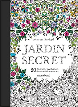 Cartes Postales Jardin Secret (French Edition) (French) Hardcover