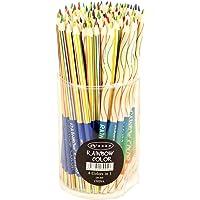 SUPVOX Regenboogkleurpotlodenset 4 kleuren in 1 DIY design potlood met levendige kleuren combinaties voor kinderen…