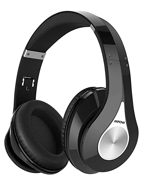 df82a4b516b Mpow 059 Bluetooth Headphones Over Ear, Hi-Fi Stereo Wireless Headset,  Foldable,