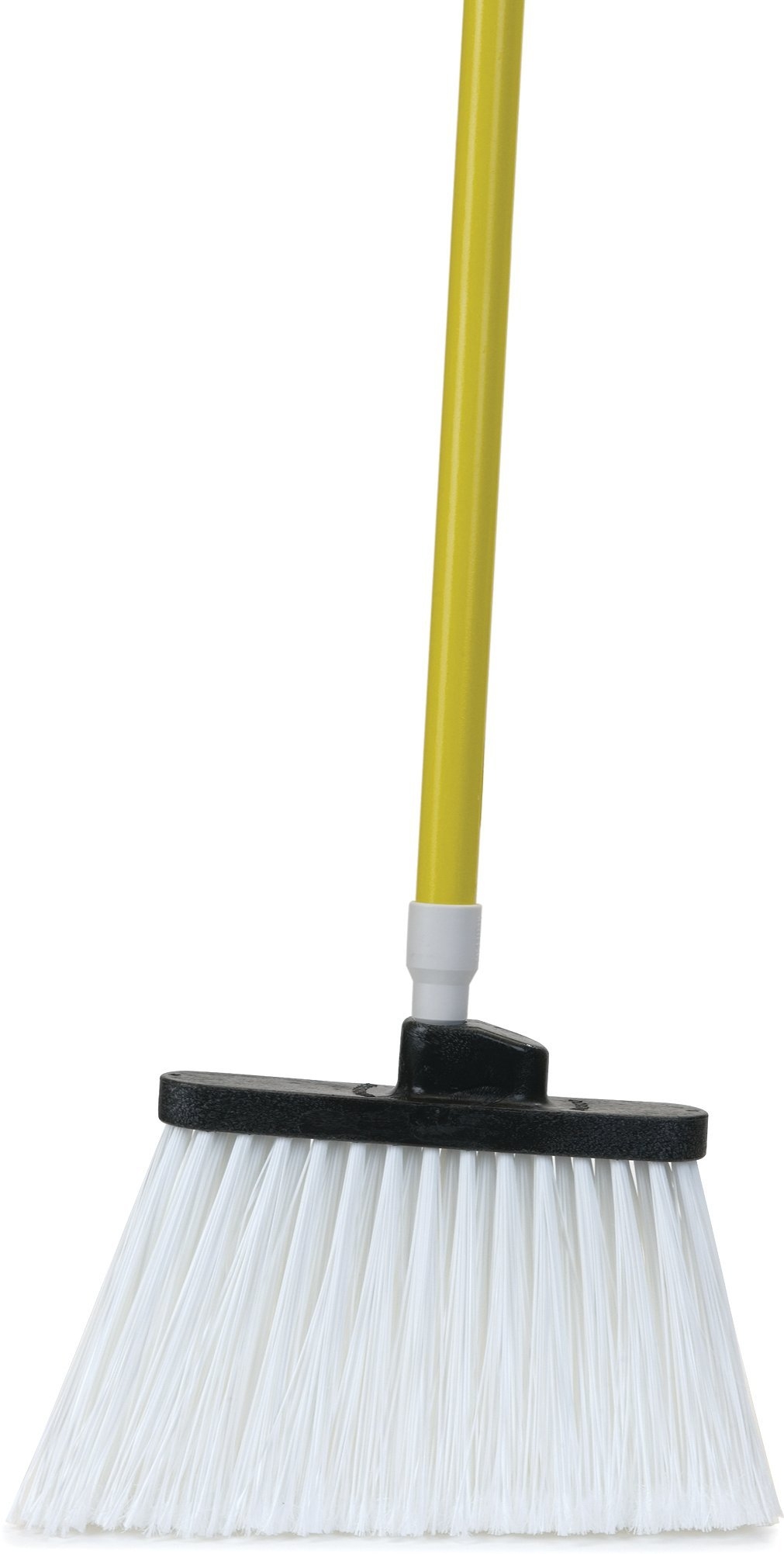 Carlisle 4122504 Sparta Commercial Fiberglass Handle with Self-Locking Flex-Tip, 48'', Yellow (Pack of 12)
