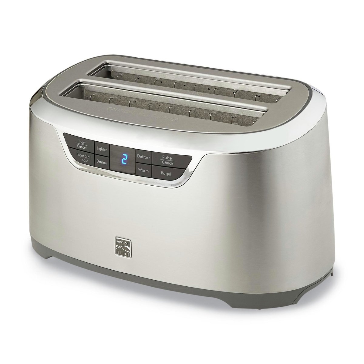 Kenmore Elite 76774 4-Slice Auto-Lift Long Slot Toaster in Stainless Steel by Kenmore