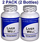 Liver Well (100 Capsules) ''2-PACK''- Concentrated Herbal Blend - Dietary Supplement