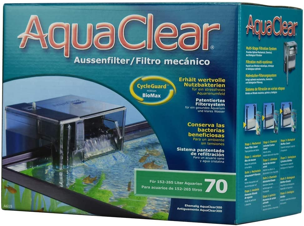 Aqua Clear Fish Tank Filter for 55 gallon fish tank