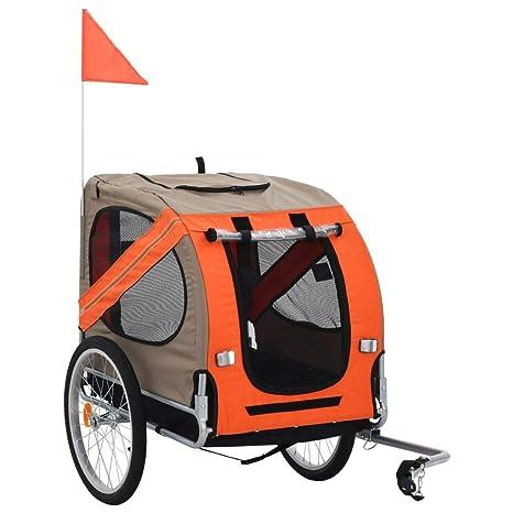 Candora - Transportín para Bicicleta de Perro o Remolque, Color ...