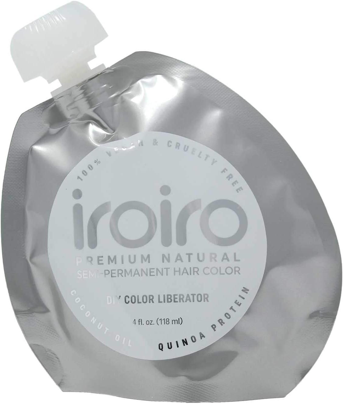Diluidor liberador de color, tinte para el cabello de Iroiro, natural, semipermanente, calidad prémium, hazlo tu mismo