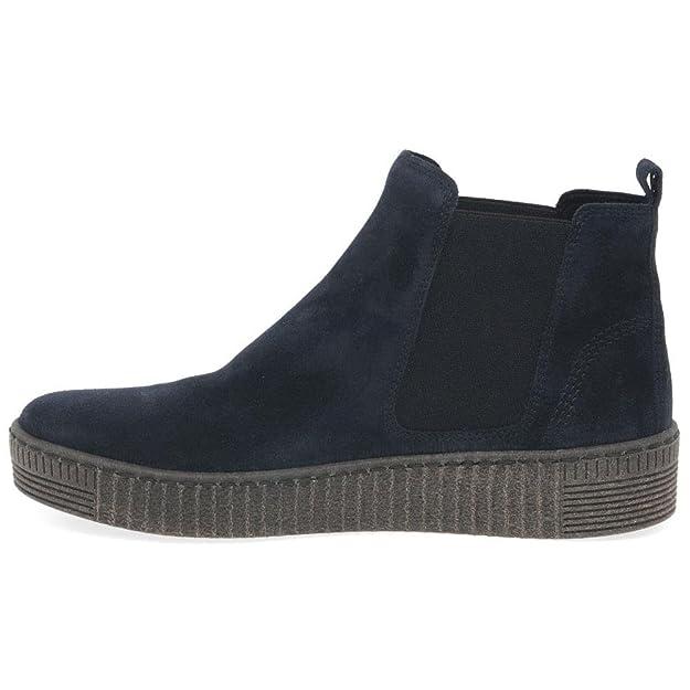 Gabor Shoes Gabor Jollys, Bottes et Bottines Souples Femme, Bleu (Ocean (Anthrazit) 10), 37 EU