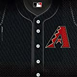 Baseball Dream Arizona Diamondbacks Party Luncheon Napkins, 36 Pieces, Made from Paper, Black by Amscan