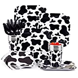 BirthdayExpress Cow Print Snack Party Pack