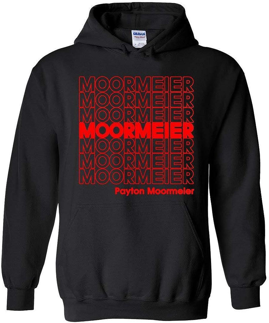 ZOZATEE The Payton Moormeier - Sudadera con capucha unisex, 227 g - Negro - XX-Large: Amazon.es: Ropa y accesorios