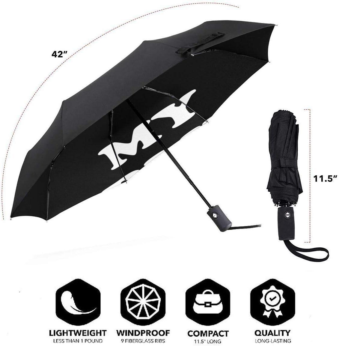 My Sibling Has Paws Automatic Tri-Fold Umbrella Parasol Sun Umbrella Sunshade