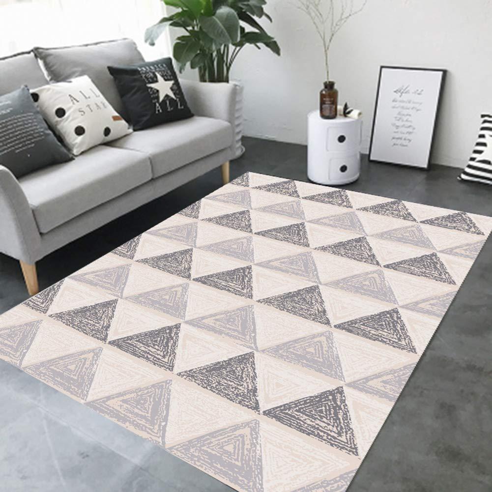 Insun Teppich Moderner Geometrische Formen Formen Formen Kurzflor Teppich Anti Rutsch Abwaschbarer Stil 11 160x230cm B07J3Y4VYC Teppiche 74fdea