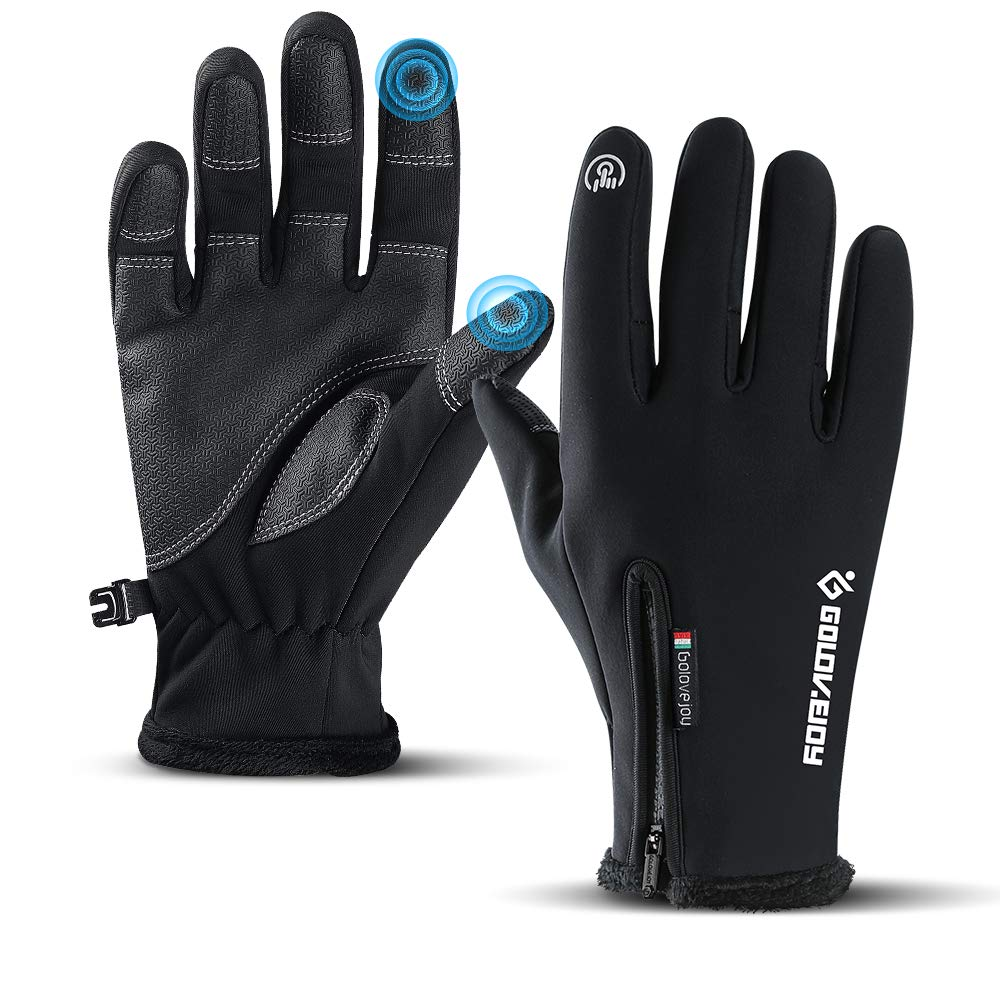 WESTWOOD FOX WFX Winter Gloves Touch Screen Anti Slip Warm Gloves Windproof Thermal Sports Cycling Gloves for Men /& Women Outdoor bike Gloves for Running Camping Driving