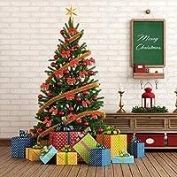 ff531efe9a9 Sumind 72 Pack Mini Lazo de Árbol de Navidad 6 cm Adornos de Lazo de ...