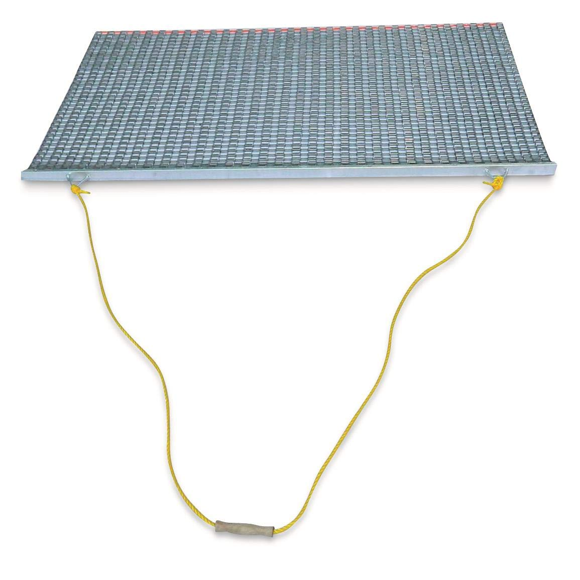 Eastern Atlantic New - Baseball & Softball Infield Drag Mat (6'Wx2'D) Steel Mesh Constructed Backed by a 3 Year Warranty by Eastern Atlantic
