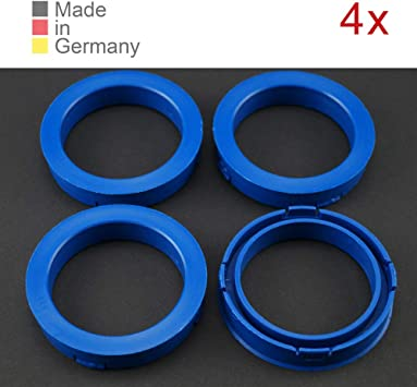 4 x Zentrierringe DISTANZRING ABSTANDSRINGE 73,1 x 54,1 mm Felgen Ringe