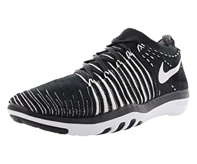 a5c134cde0844 Nike Free Transform Flyknit Fitness Women's Shoes Size 6 Black/White