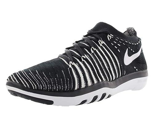 Nike WM Gratis Cambiante Flyknit, Mujer Zapatillas - Blanco Y Negro 010, 39: Amazon.es: Zapatos y complementos