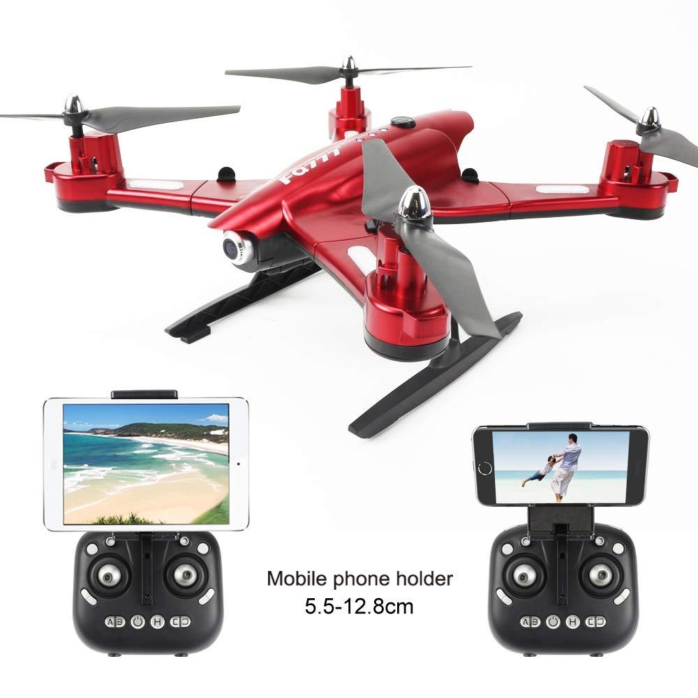 ZHAORLL RC-Drohnenkamera Echtzeitübertragung WiFi FPV Quadcopter Headless-Modus Höhe 3D-Notlandung für Flip, geeignet für Anfänger