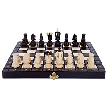 Zunruishop Madera sólida Ajedrez Plegable portátil de ajedrez de ...