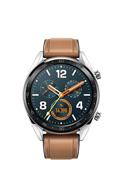 97c720945 Amazon.in  Buy Huawei Watch GT Fortuna-B19V Classic (Silver) Online ...