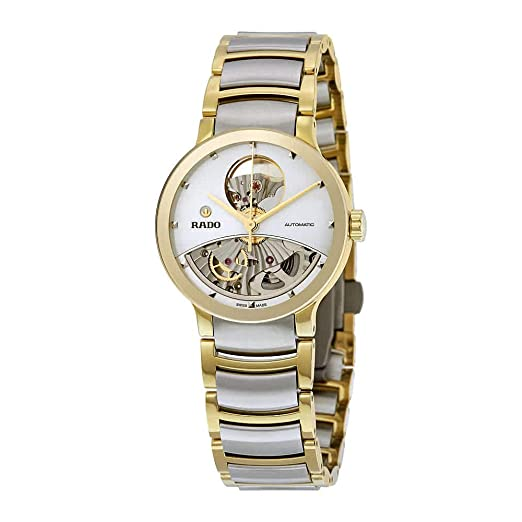 Rado Centrix Reloj de Mujer automático 33mm Color Dos Tonos R30246013: Rado: Amazon.es: Relojes