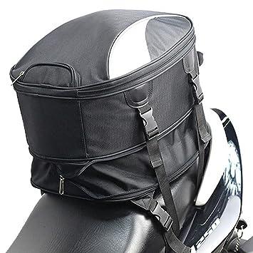 Bolsa para Asiento Trasero de Motocicleta, Tela Oxford ...