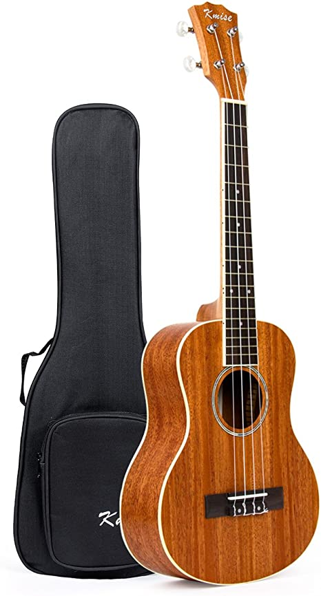 Kmise - Ukelele tenor parte superior de pícea sólida, Guitarra ...