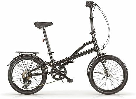Bicicleta plegable MBM Metrò, cuadro de aluminio, manillar ...