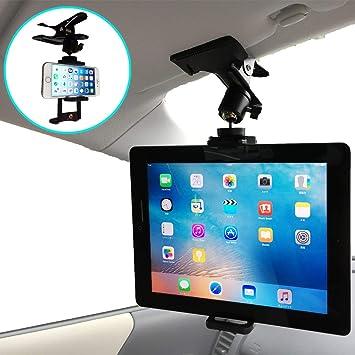 79be83ca1f Amazon   【Nanmara】車載用 iPad タブレット クリップ ホルダー スマホ ...