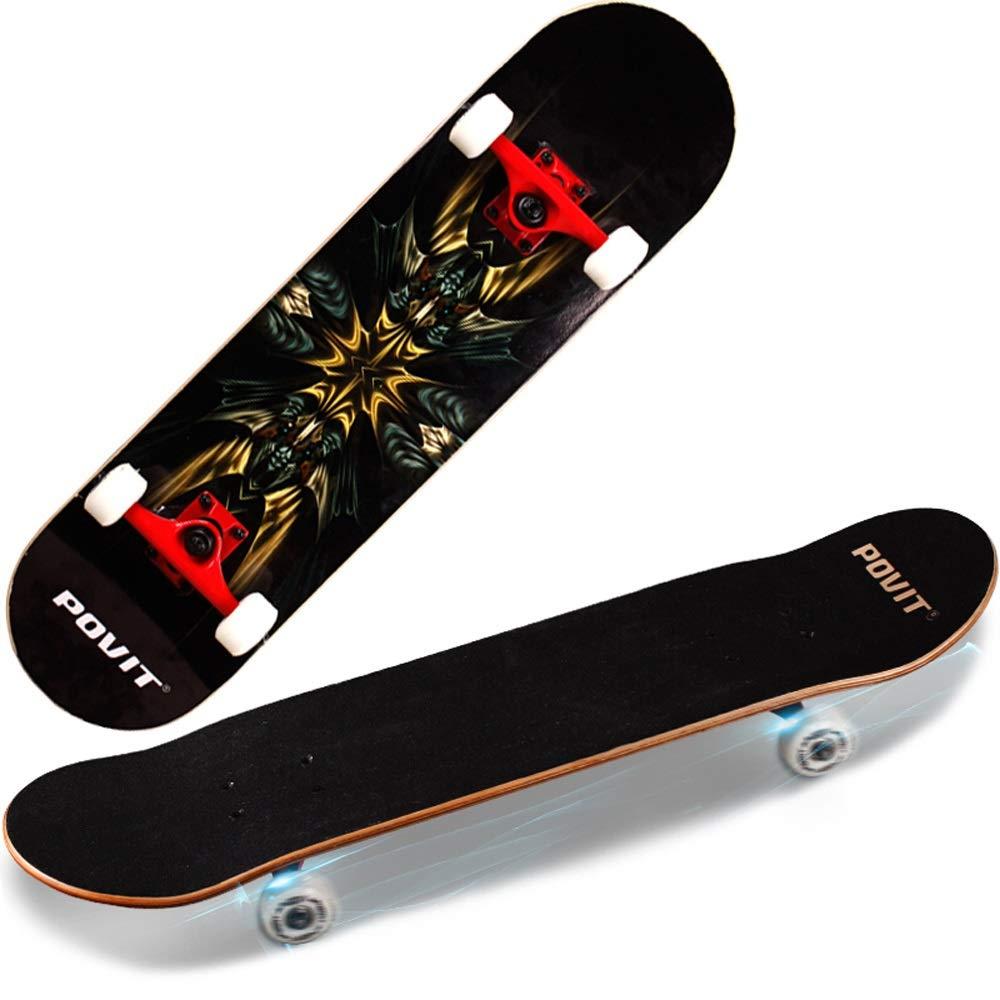 【メーカー再生品】 スケートボード スケートボード - プロフェッショナル四輪スケートボード アウトドア製品 - Red B019OL0W8U Red Red, 陶器と雑貨 KOSETO plus:e0911c77 --- a0267596.xsph.ru