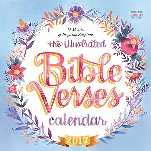 The-Illustrated-Bible-Verses-Wall-Calendar-2017