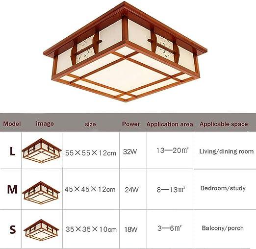 ZZP-Luz de techo con incrustaciones Lámpara de techo de estilo ...