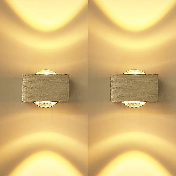 9W 3 LED Wandleuchte Up /& Down Effektlampe Deckenleuchte Flurlampe Lichter Lampe