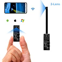 Cam Mall WiFi Mini 2-Lens Spy Camera with Motion Detection Alarm