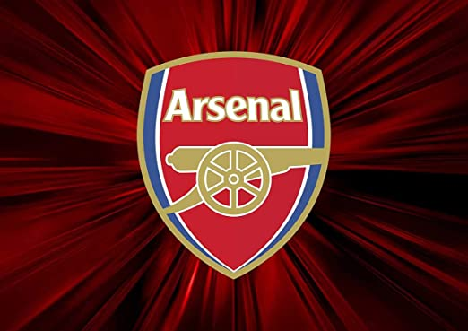 Arsenal Football Club Crest Soccer Sports Poster 16 x 20 inches