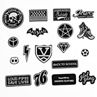 Bedler 18st Borduurwerk Patch Applique Strijkkunsten DIY Naaibenodigdheden Decoratie Badge Patch Kleding Jassen…