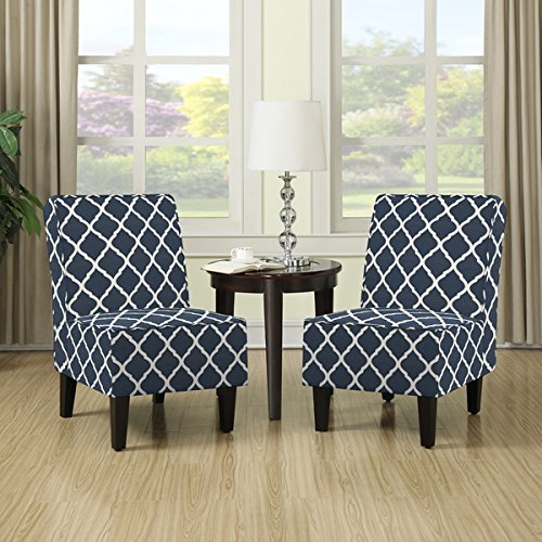 handy-living-wylie-navy-blue-trellis-print-armless-chairs-set-of-2