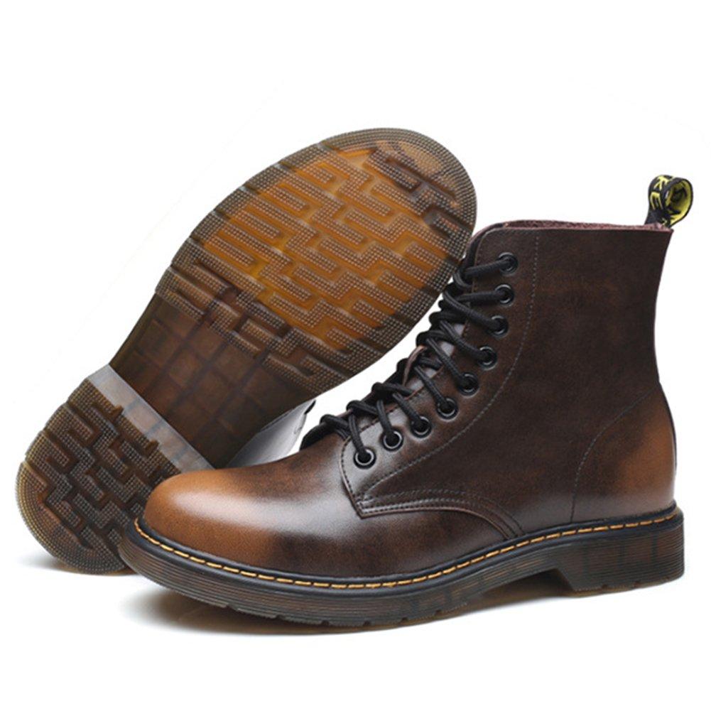 Padgene - Botas Militar Hombre, Marrón (Marrón), 41: Amazon.es: Zapatos y complementos