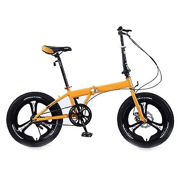 KNFBOK Bicicleta montaña Adulto Bicicleta Plegable súper Liviana ...