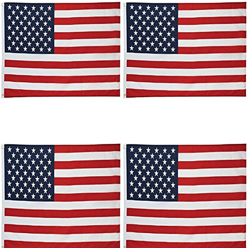 4 four usa flag american
