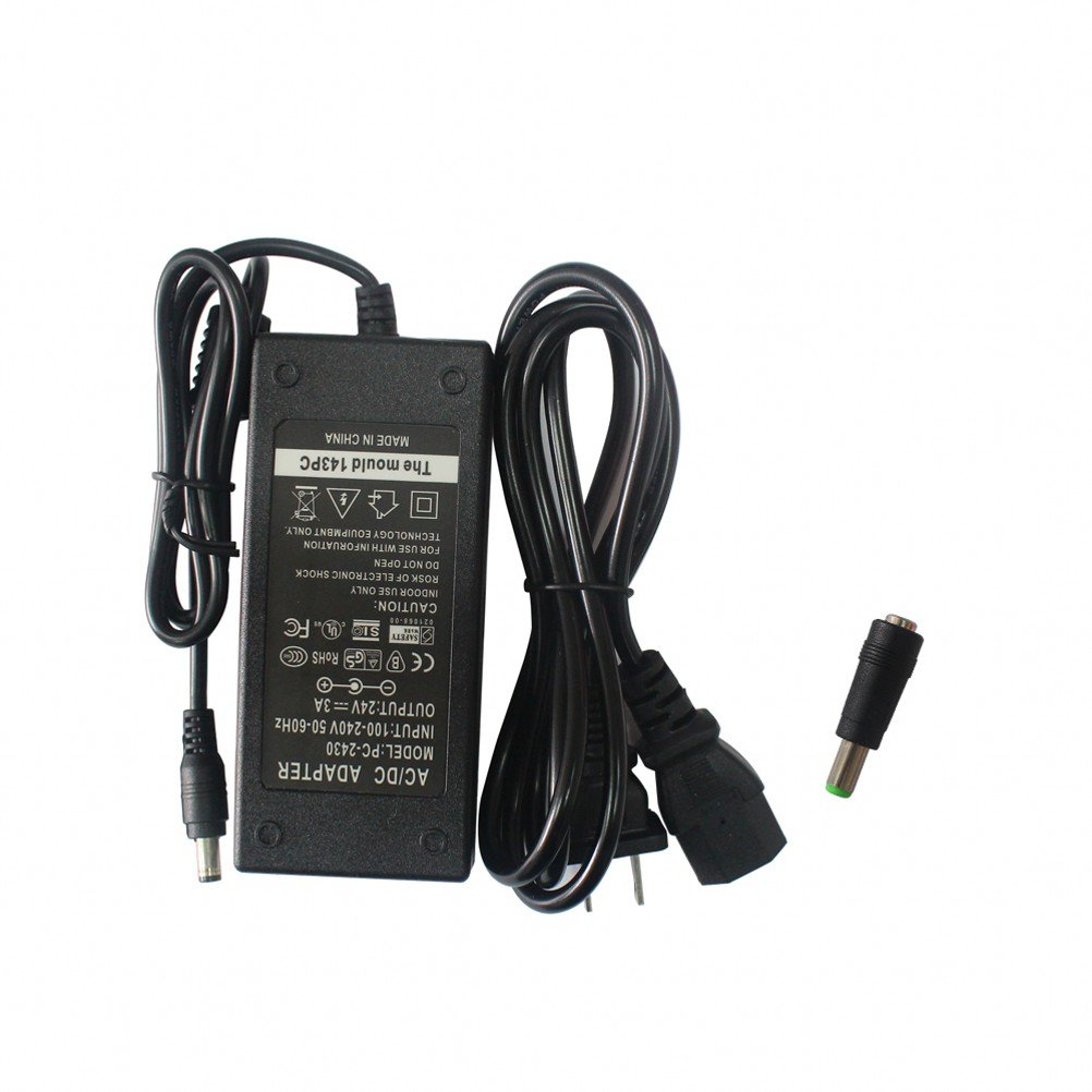 24V AC DC Adapter Charger Power Supply for Zebra ZP550 ZP450 GX420d GK420d GK420t GX420t GX430T GT810 GC420t HC100 Label Printer