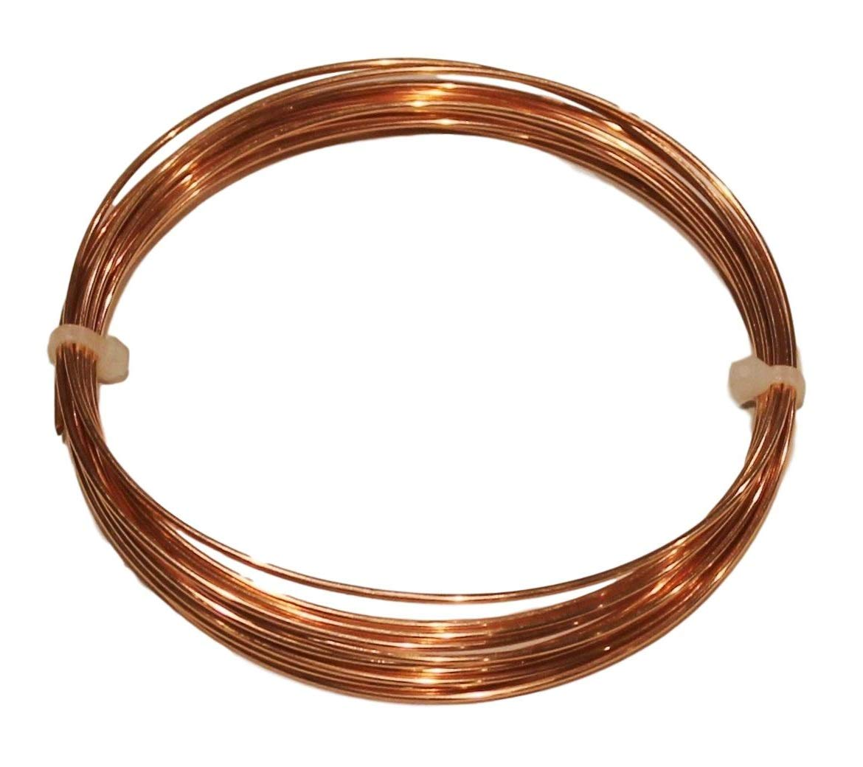 Dead Soft 18 Ga 25 Ft Solid Round Copper Wire Coil By Copper wire USA