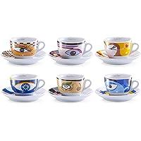 Zeller 26511 Servicio de Café Capuchino, cerámica, 34.5x20x9