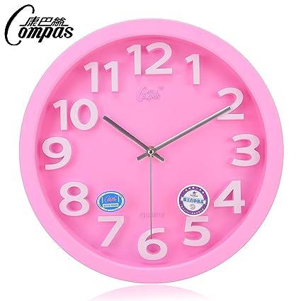 Reloj de Pared Reservado Creativo, Reloj de Pared casero de la Decoración, Reloj de