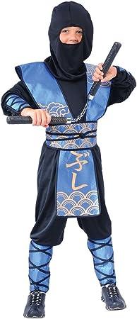 Disfraz infantil de ninja (talla L, 8-10 años): Amazon.es: Juguetes y ...