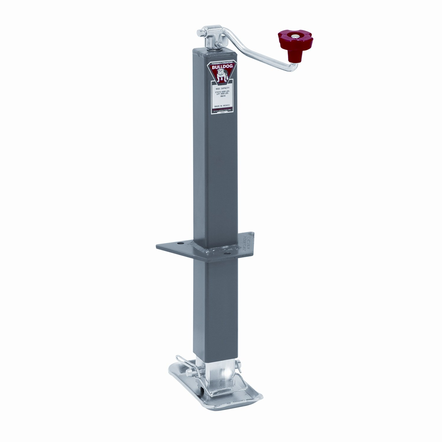 Bulldog 195318 Square Jack, 5000 lb. Load Capacity