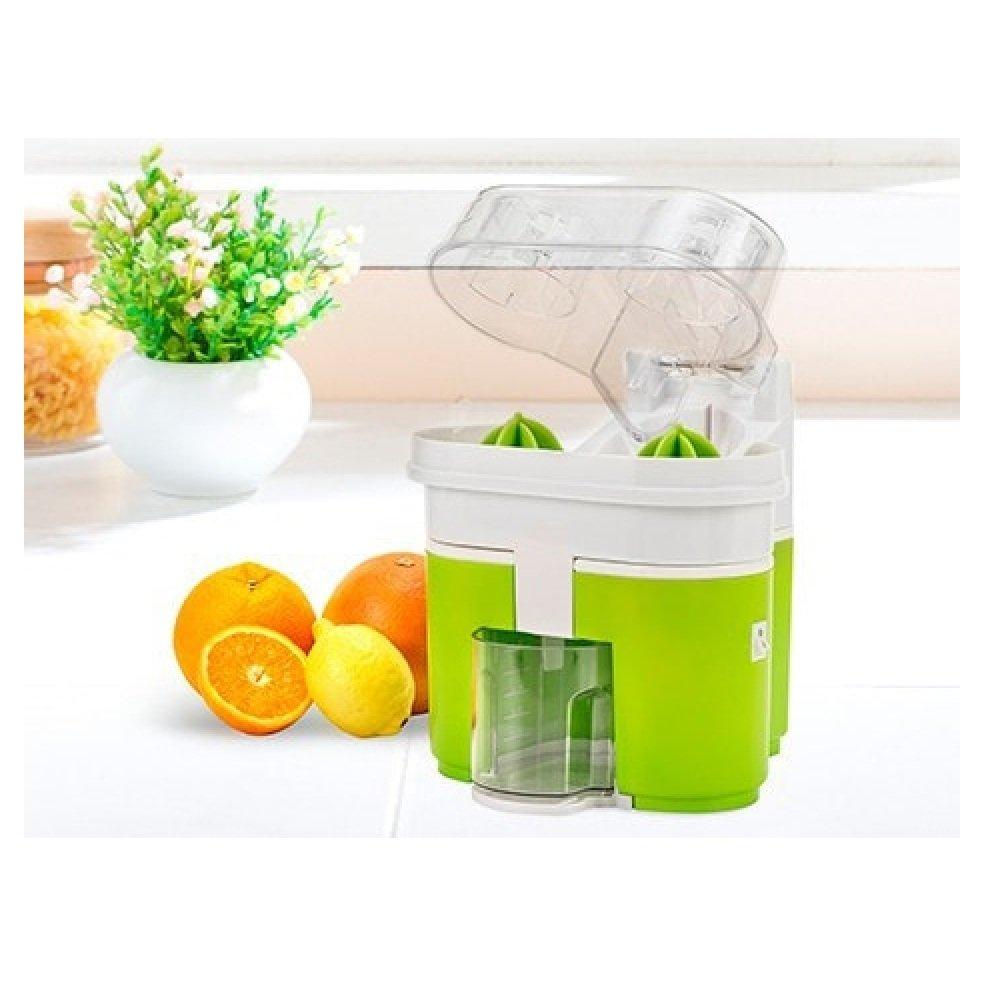 Top SHOP Newchef Duo Juicer Extractor de zumo exprimidor exprimidor 90 W Color Verde: Amazon.es: Hogar