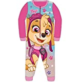 Kids Girls Fleece Character Onesie Pyjamas Pj's Size UK 1-8 Years