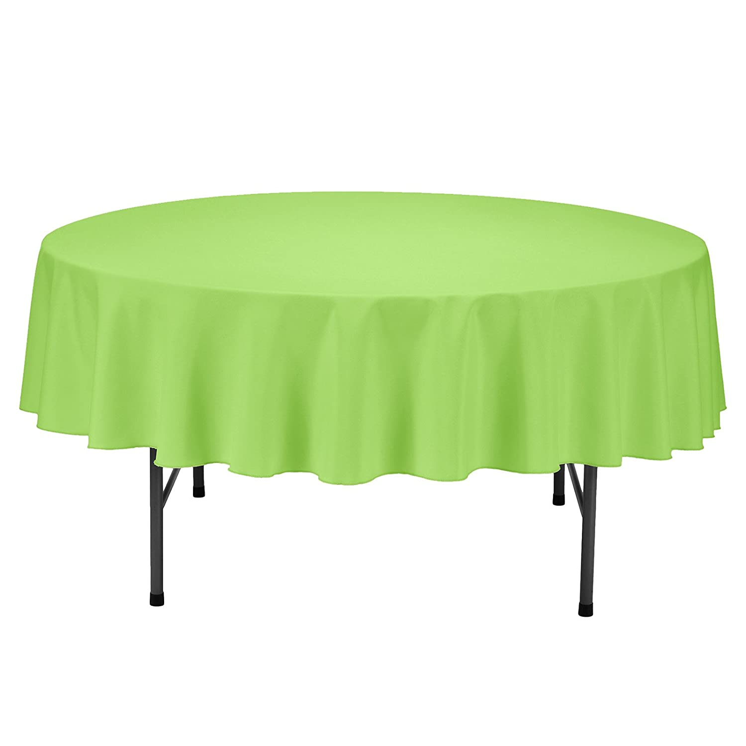 70 Inch Round Table Cloth.Remedios Round Tablecloth Solid Color Polyester Table Cloth For Bridal Shower Wedding Table Wrinkle Free Dinner Tablecloth For Restaurant Party