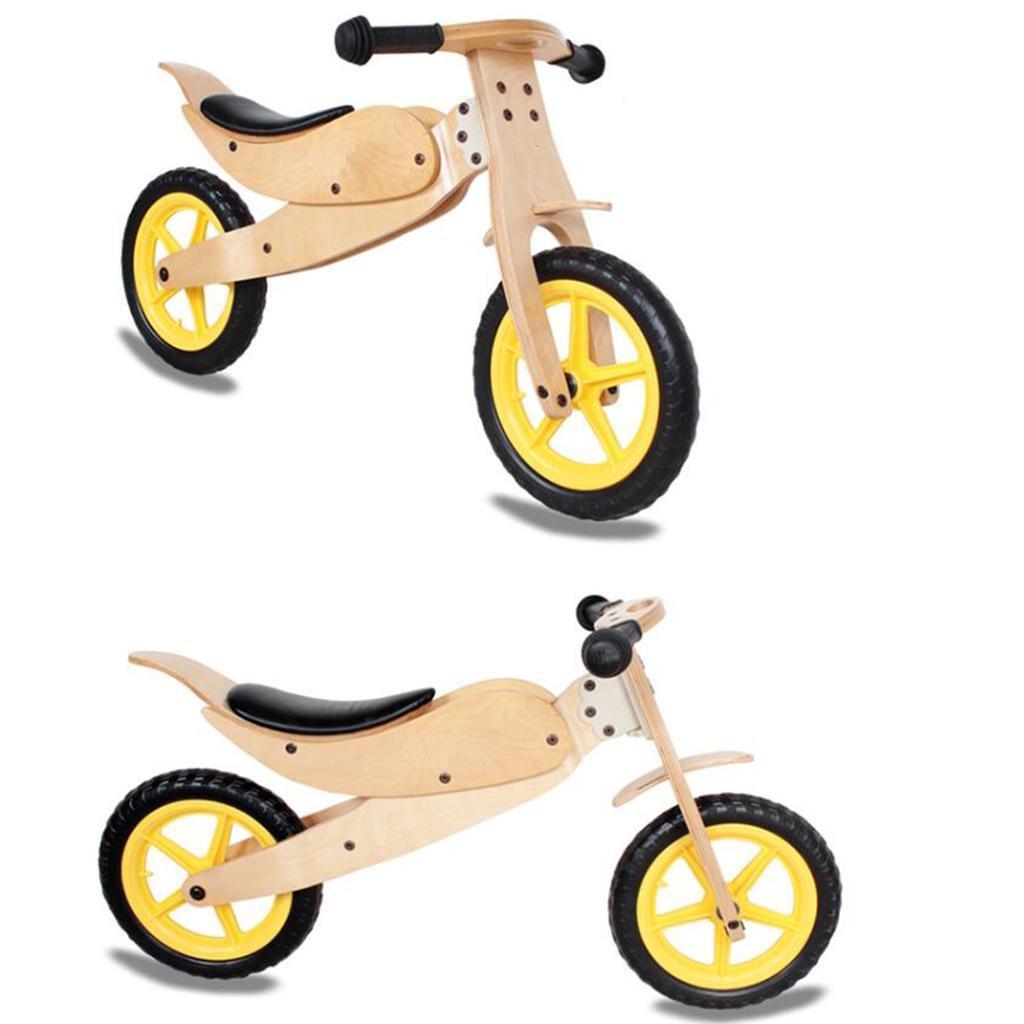 Los niños de madera equilibrio coche de madera para patinete ...